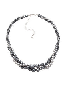 Hannah White / Silver Necklaces & Pendants Fashion Jewelry