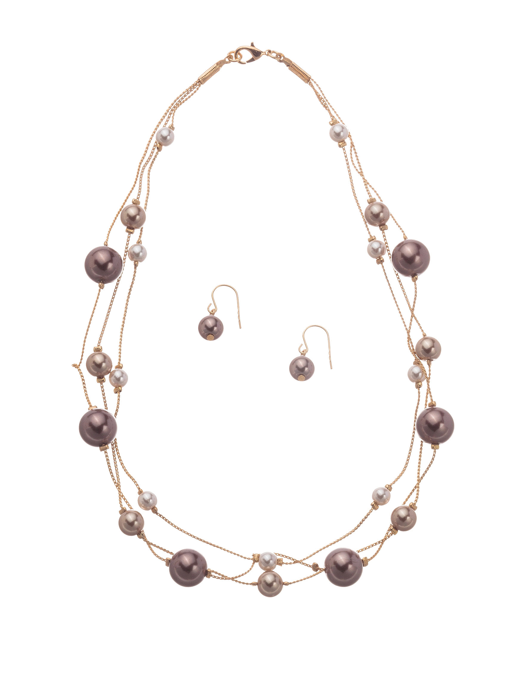 Hannah White / Silver Hoops Fashion Jewelry