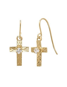 Aurafin Oro America  Drops Earrings Fine Jewelry