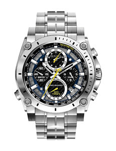 Bulova Chronograph Precisionist Stainless Steel Watch