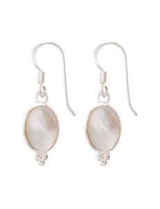 Marsala Silver Earrings Fine Jewelry