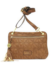 Nicole Miller Madison Solid Color Crossbody Bag