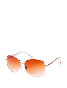 Unionbay Ladies Enamel Rim Chain Link Sunglasses