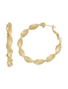 5th & Luxe White / Silver Drops Earrings Fine Jewelry