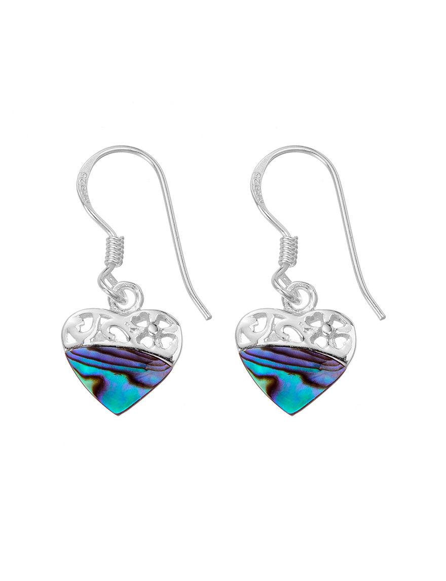 Marsala Silver Drops Earrings Fine Jewelry