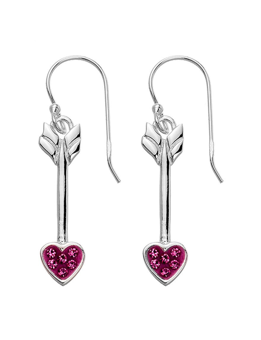 Marsala Pink Earrings Fine Jewelry