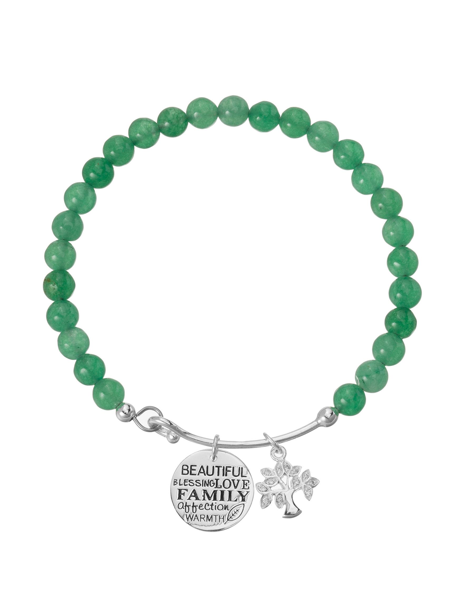 Marsala Green Bracelets Fine Jewelry