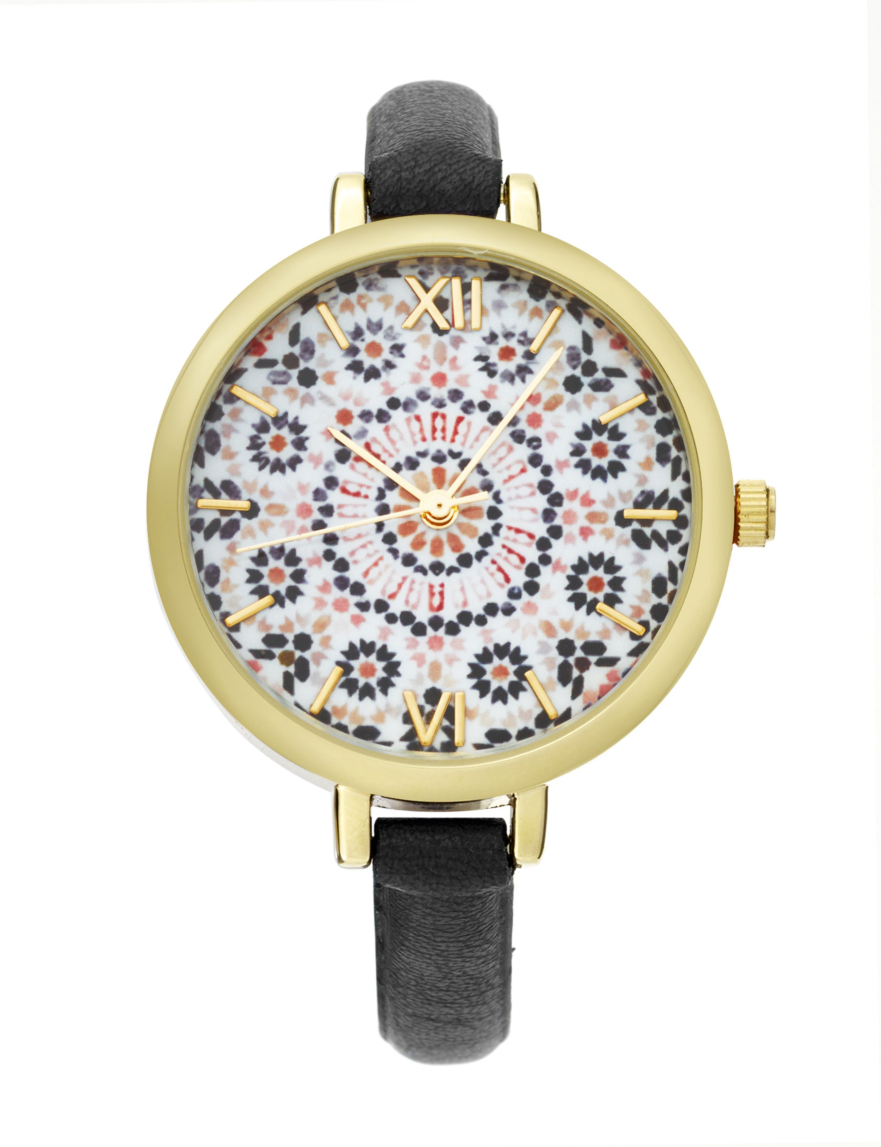 American Exchange Black Fashion Watches