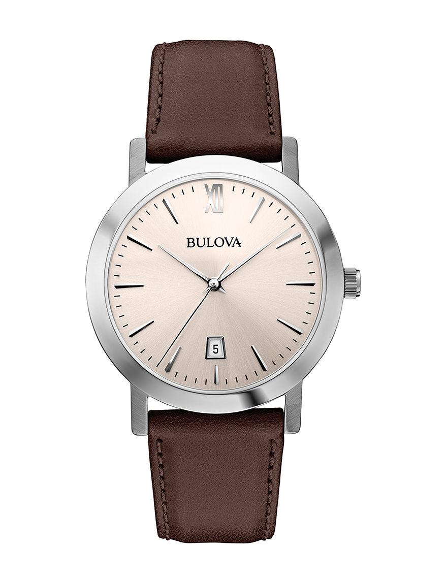 Bulova Brown Fashion Watches