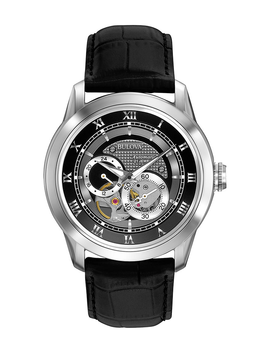 Bulova Black Fashion Watches