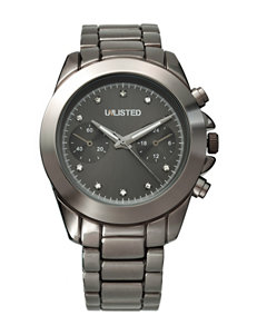 Unlisted Gunmetal Fashion Watches