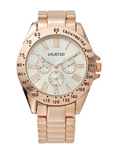 Unlisted Rose Gold Fashion Watches