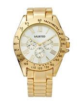 Unlisted Ladies Gold Boyfriend Watch