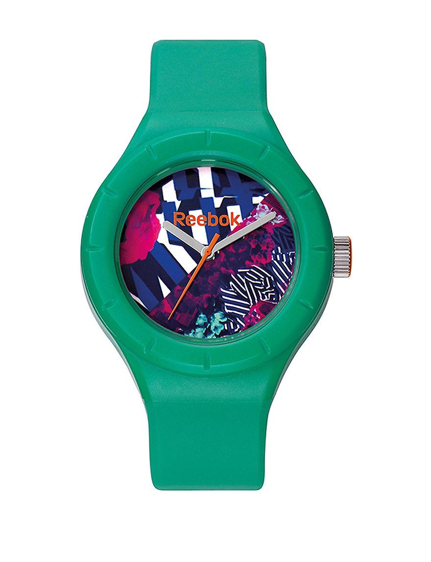 Reebok Green Fashion Watches