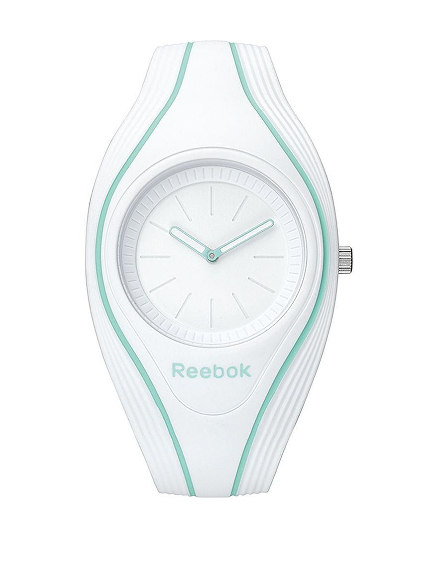 Reebok White Sport Watches