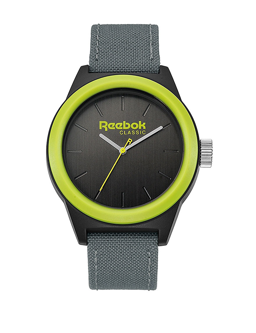 Reebok Grey Sport Watches