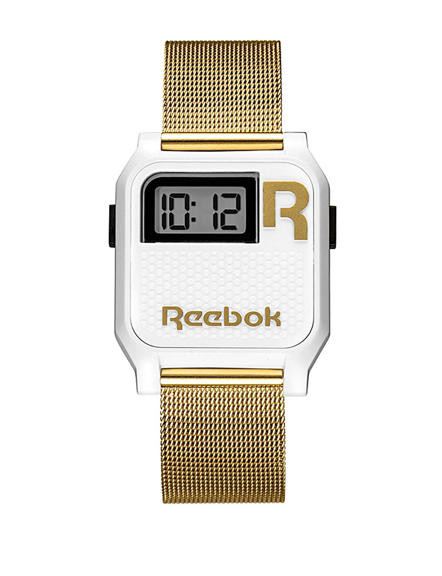 Reebok White Fashion Watches
