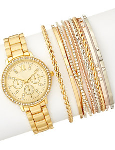 American Exchange Gold Fashion Watches