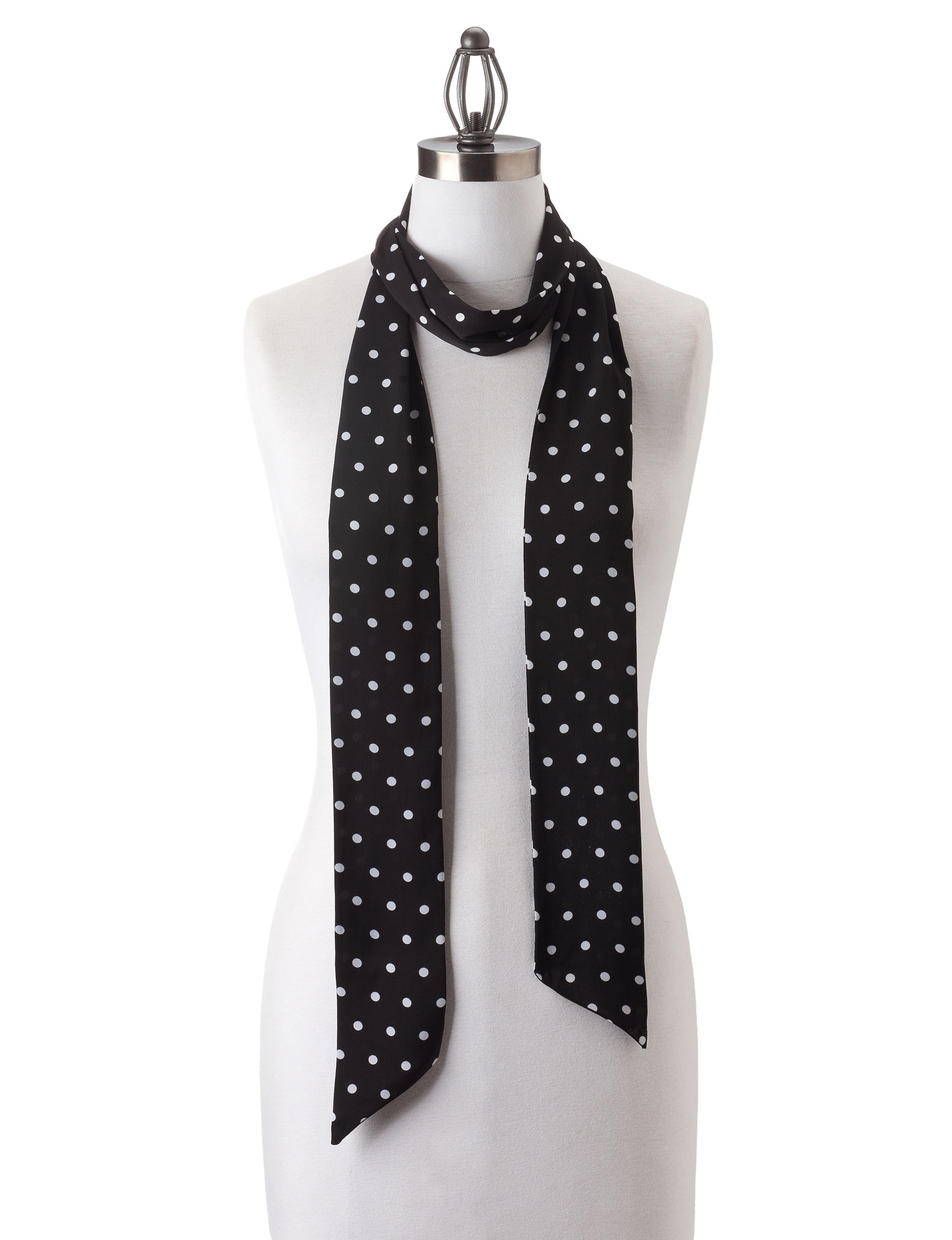 Collection 18 Black Scarves & Wraps