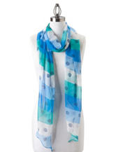 Kensie Shore Thing Stripe Scarf
