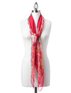 Kensie Red Scarves & Wraps