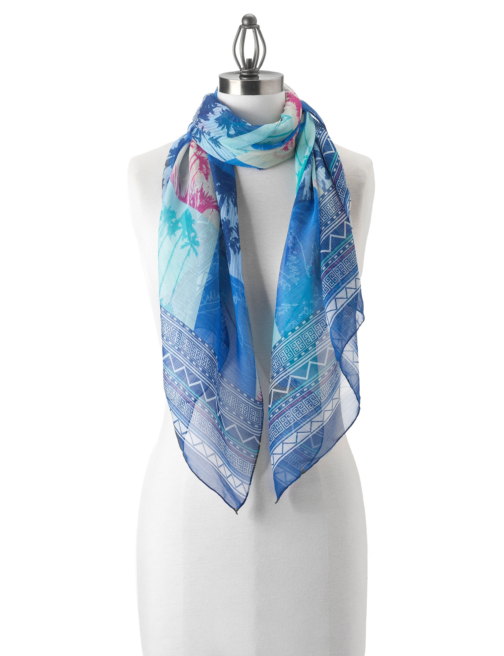 Kensie Blue Scarves & Wraps