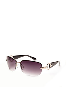 Signature Studio Rectangle Circle Stone Sunglasses