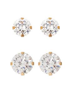JTS Gold Studs Earrings Fine Jewelry