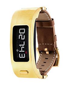 Garmin Vivofit 2 Leather Strap Digital Watch
