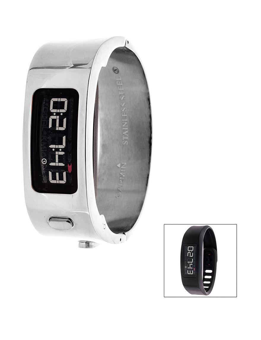 Garmin Silver Sport Watches