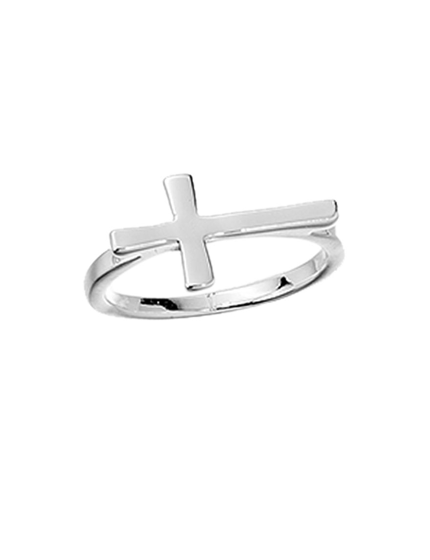 City by City White / Silver Rings Fashion Jewelry