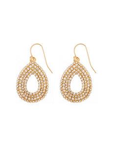 Signature Studio Gold Drops Earrings Fashion Jewelry