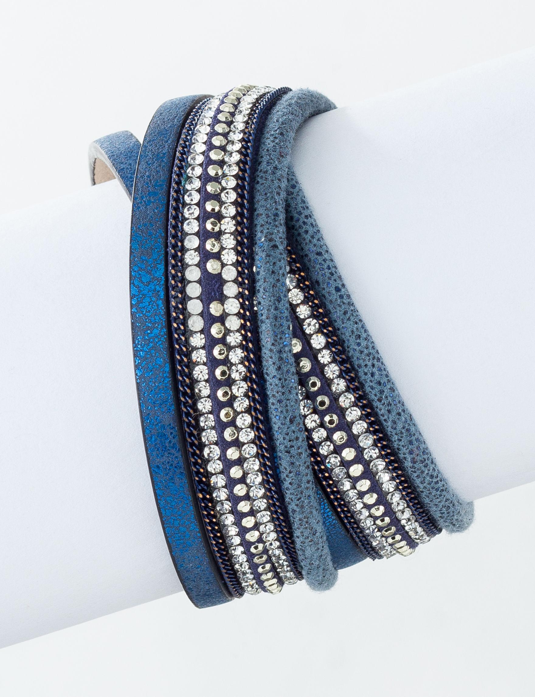Signature Studio Blue Bracelets Fashion Jewelry