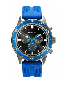 Unlisted Blue / Silver Sport Watches