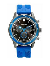 Unlisted Men's Blue Silicone Sports Watch