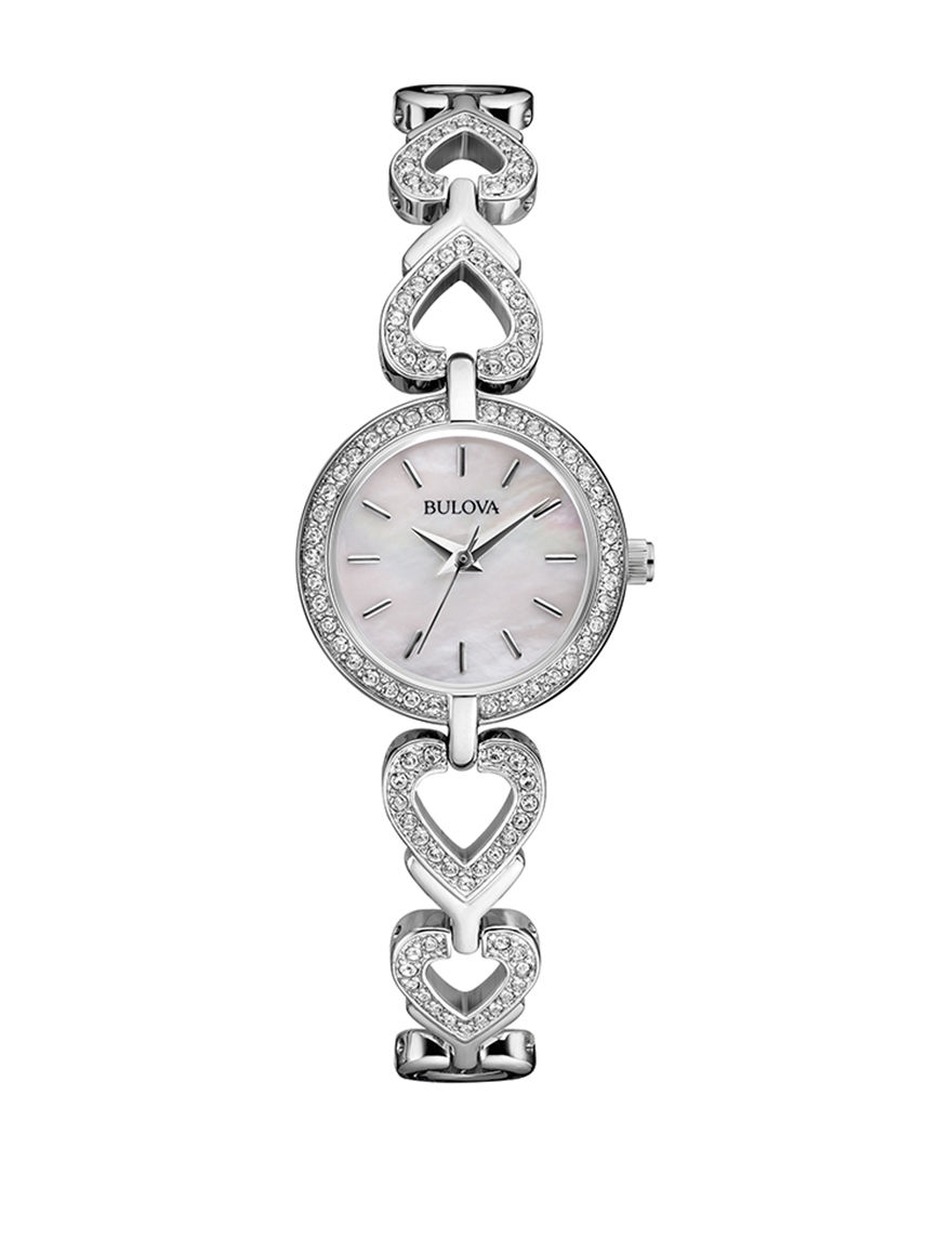 Bulova Silver Fashion Watches