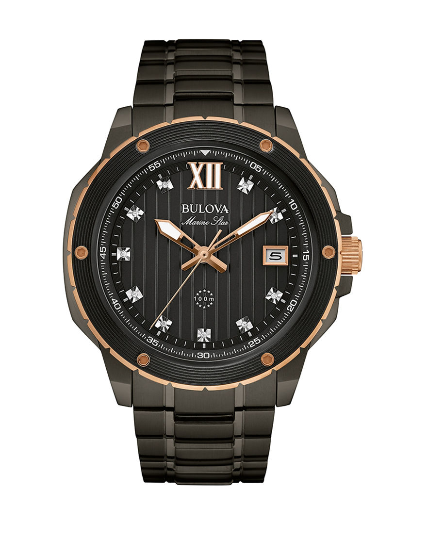 Bulova Gray Fashion Watches