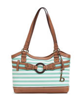 B.O.C. Nayarit Striped Tote Handbag