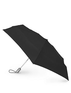 Totes Black Auto Open/Close Umbrella