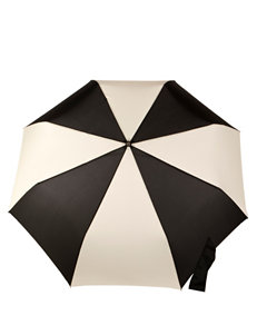 Totes Color Block Golf Size Auto Open/Close Umbrella