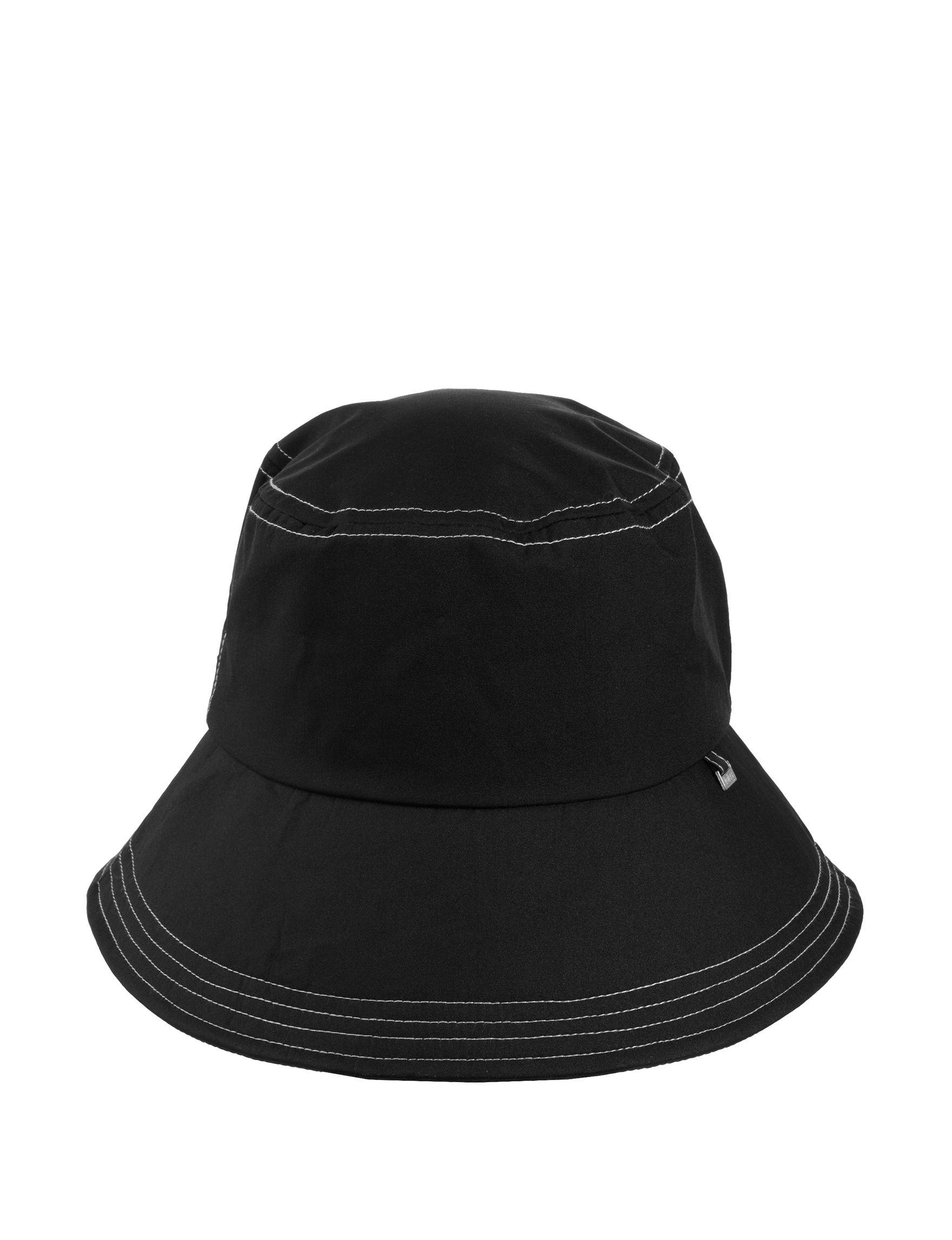 Isotoner Black Hats & Headwear