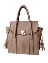 Olivia Miller Whip Stitched Tassel Tote Bag