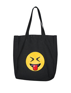 Olivia Miller Eyes Closed Tongue Out Emoji Tote Bag