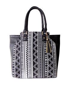 Olivia Miller Tassel Tote Bag