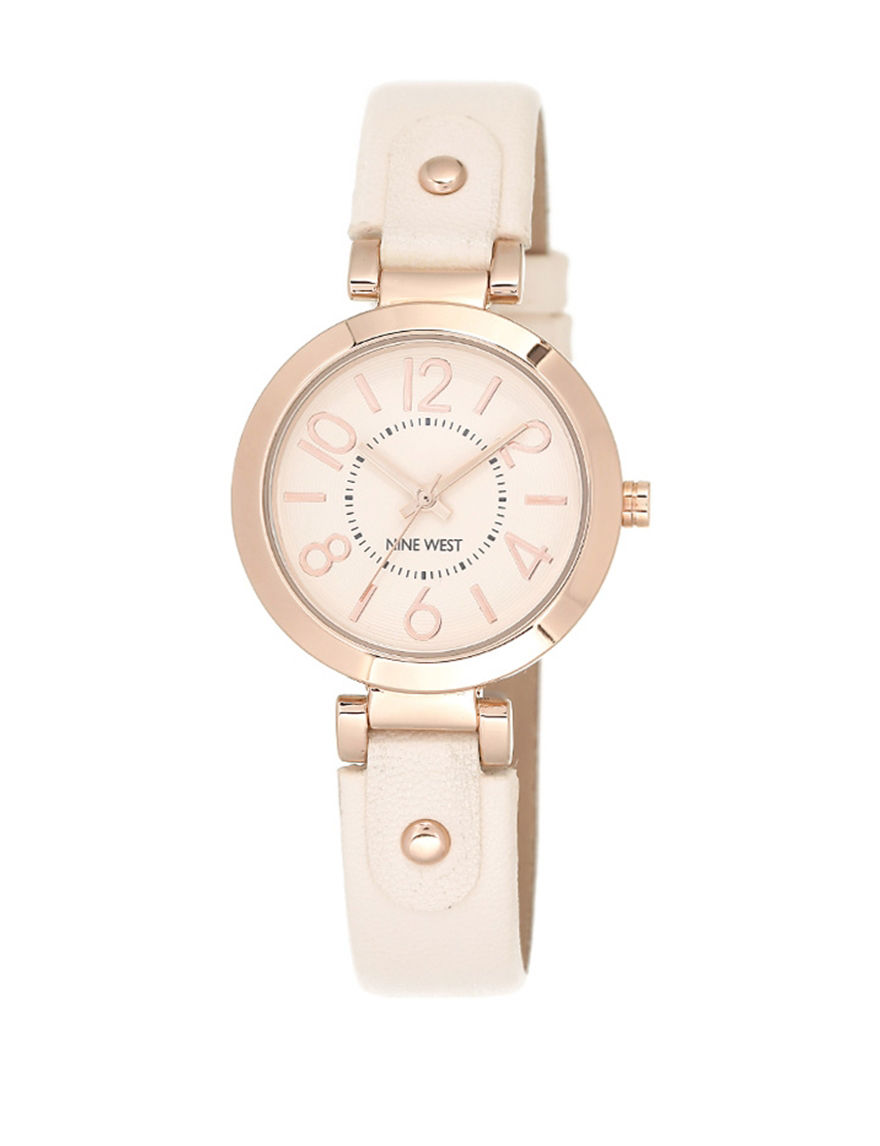 Nine West Rose Gold Fashion Watches
