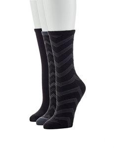 Hanes Grey Socks