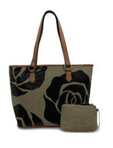 Bueno 2-pc. Floral Canvas Tote Bag & Coin Purse