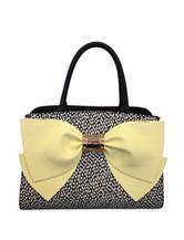 Betsey Johnson Ready Set Bow Satchel Handbag