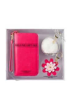 Signature Studio 3-pc. Pink Wristlet & Charms Set