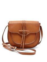Steven Tan Saddle Crossbody Bag